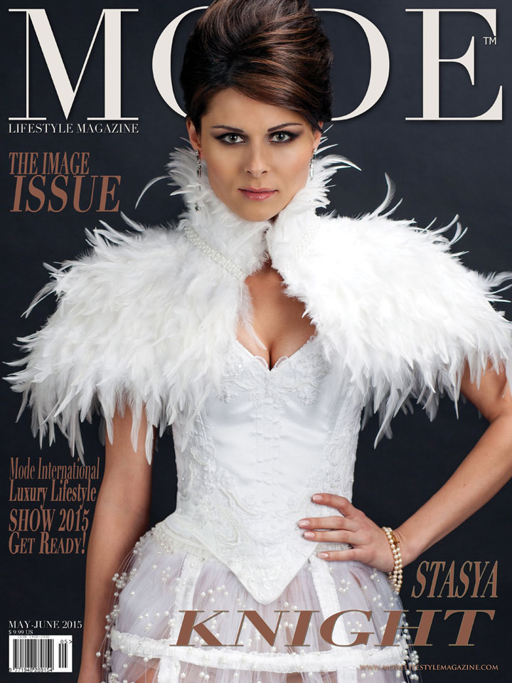 """Stasya Knight on the Multi-Cover """"THE IMAGE"""" Issue of Mode Lifestyle Magazine... Photography: Terry Check for MODE"""