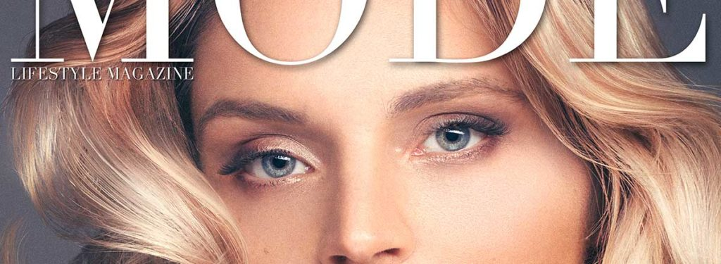 Susanna Schön Is On The Cover of Mode Lifestyle Magazine