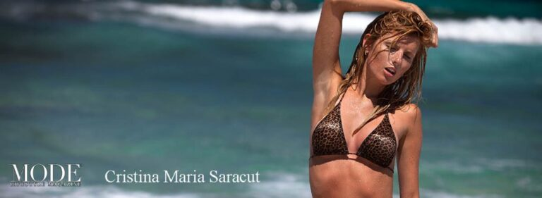 Cristina Maria Saracut Cover – 2020 Collector's Edition: MODE's World's 100 Most Beautiful Women 2016