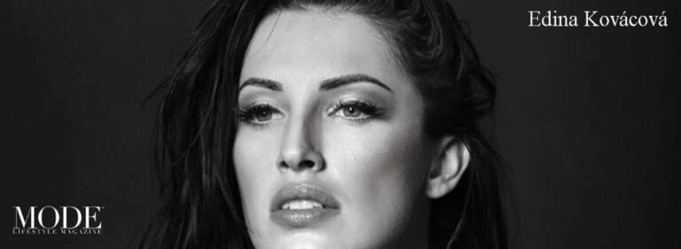 Edina Kováčová Cover – 2020 Collector's Edition: MODE's World's 100 Most Beautiful Women 2016