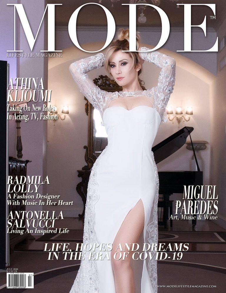 Antonella Salvucci Cover - Life, Hopes and Dreams Issue - Mode Lifestyle Magazine