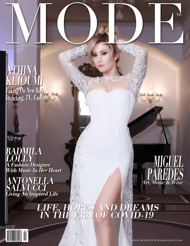 Antonella Salvucci Cover - Life, Hopes and Dreams Issue - Mode Lifestyle Magazine