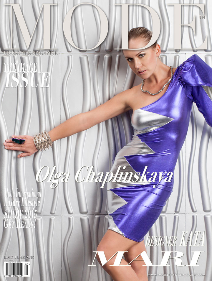 Olga Chaplinskaya Wearing Kata Mari for Mode Lifestyle Magazine