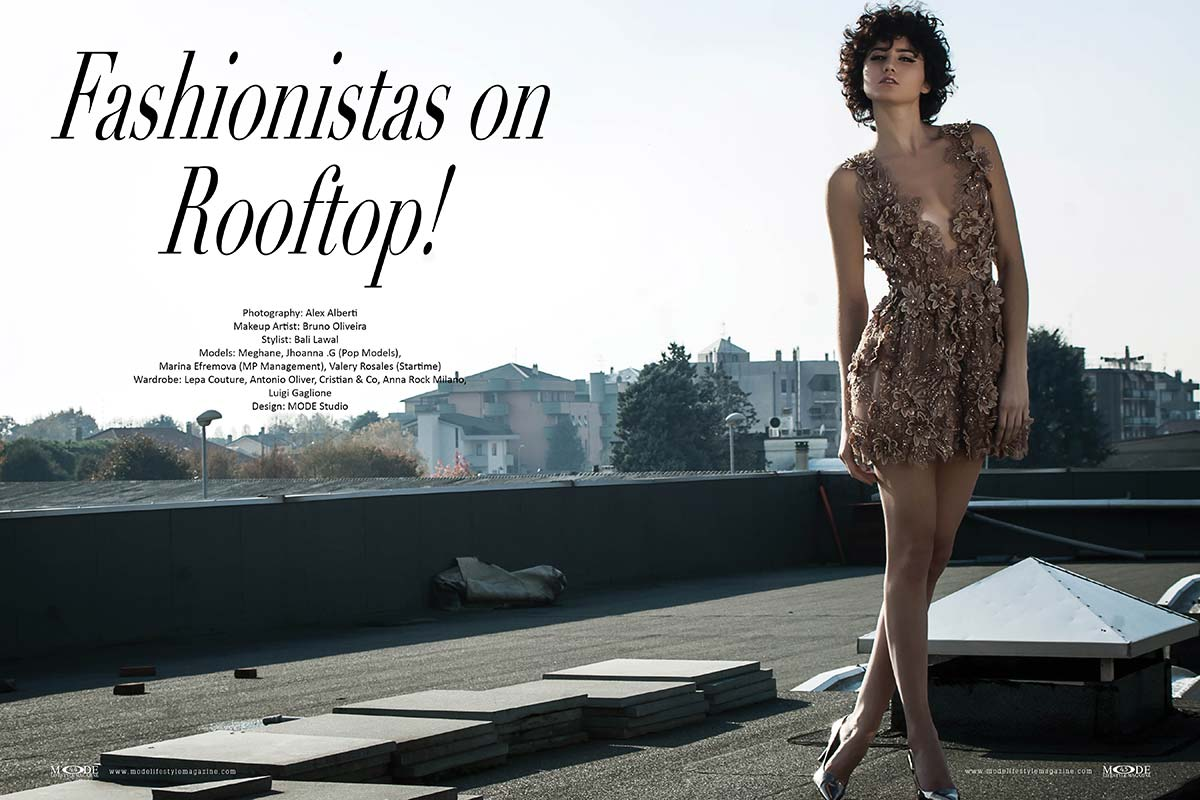 Fashionistas on Rooftop