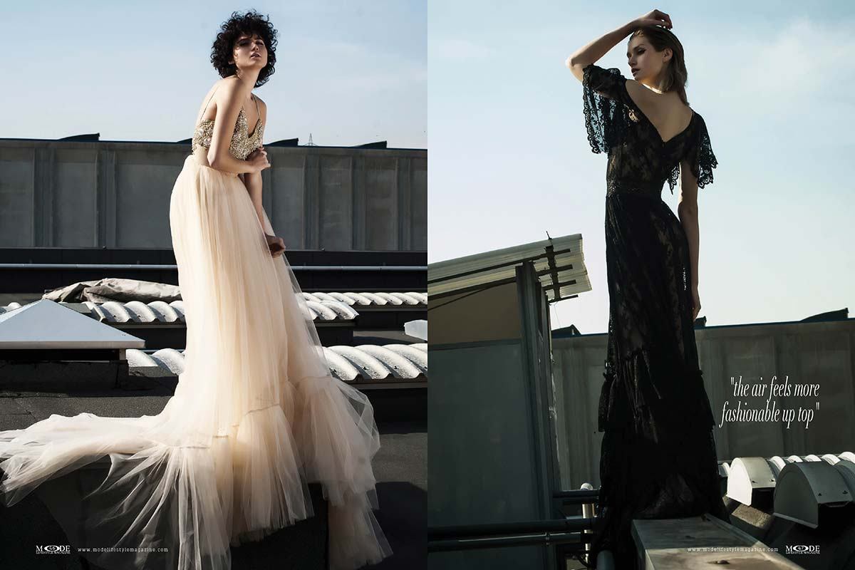 """Fashionistas on Rooftop - """"the air feels more fashionable up top"""""""