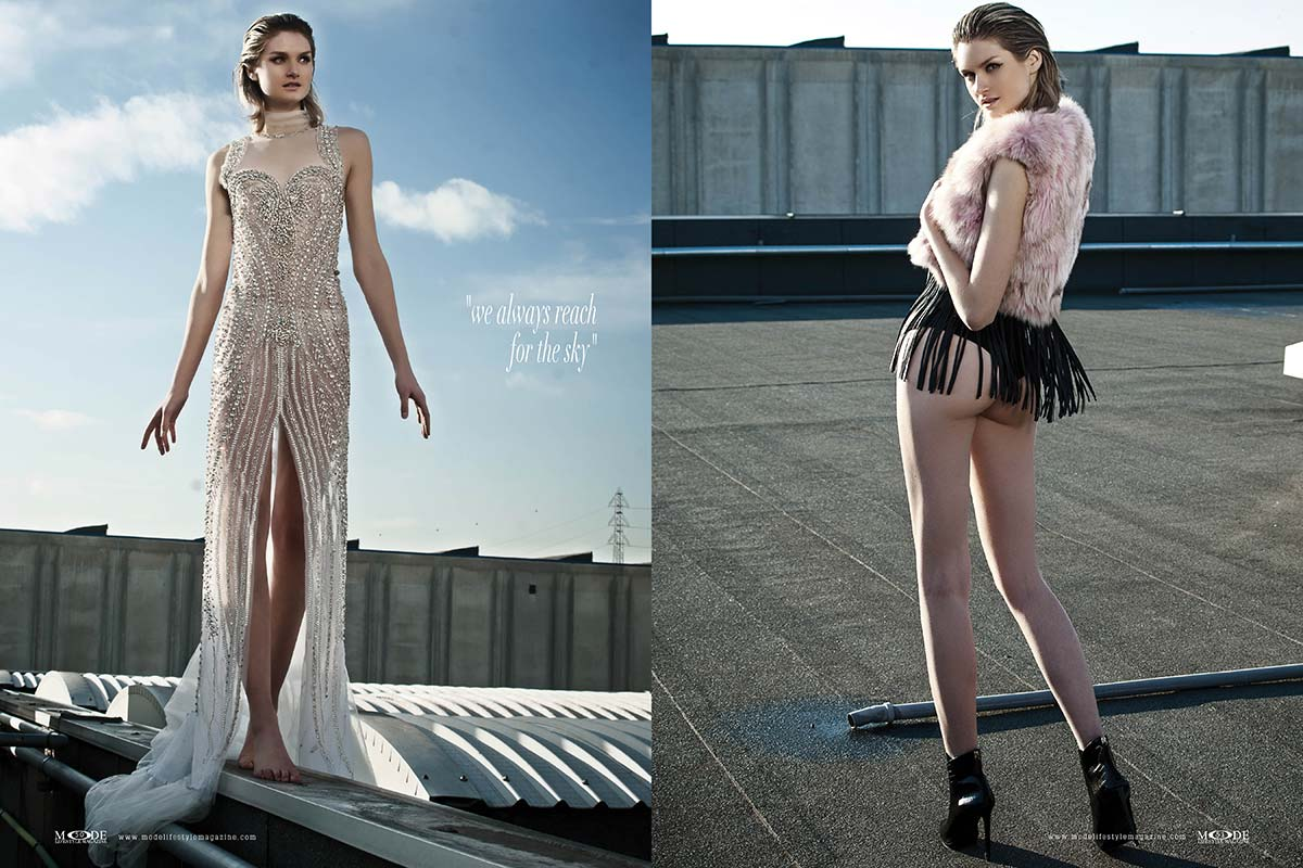 """Fashionistas on Rooftop - """"we always reach for the sky"""""""