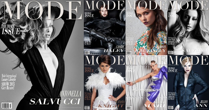 "Multi-Cover ""THE IMAGE"" Issue of May/June 2015 Mode LIfestyle Magainze"