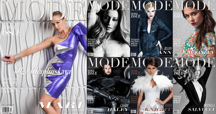 """Multi-Cover """"THE IMAGE"""" Issue of May/June 2015 Mode Lifestyle Magazine"""