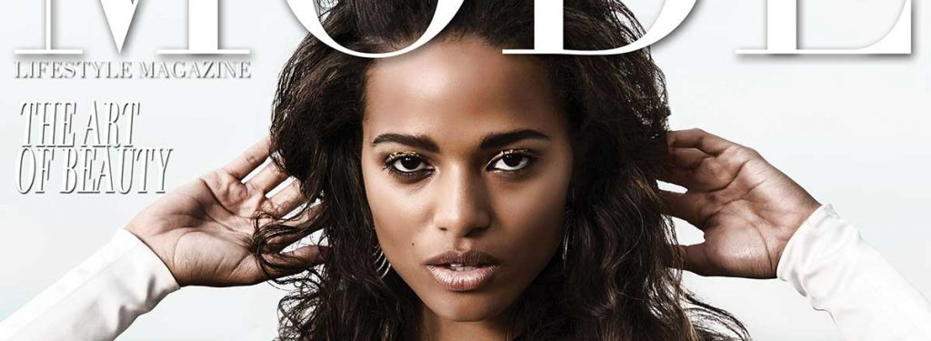 "Beatriz Fortunato - ""The Art Of Beauty"" Mode Lifestyle Magazine Cover Model"