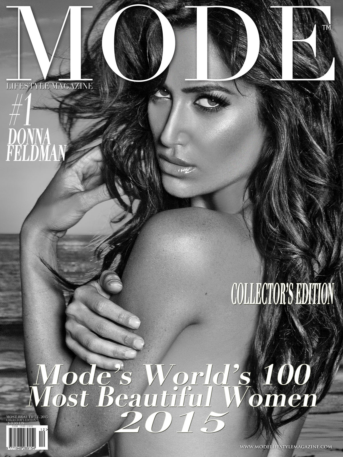 COVER - MODE'S WORLD'S 100 MOST BEAUTIFUL WOMEN 2015