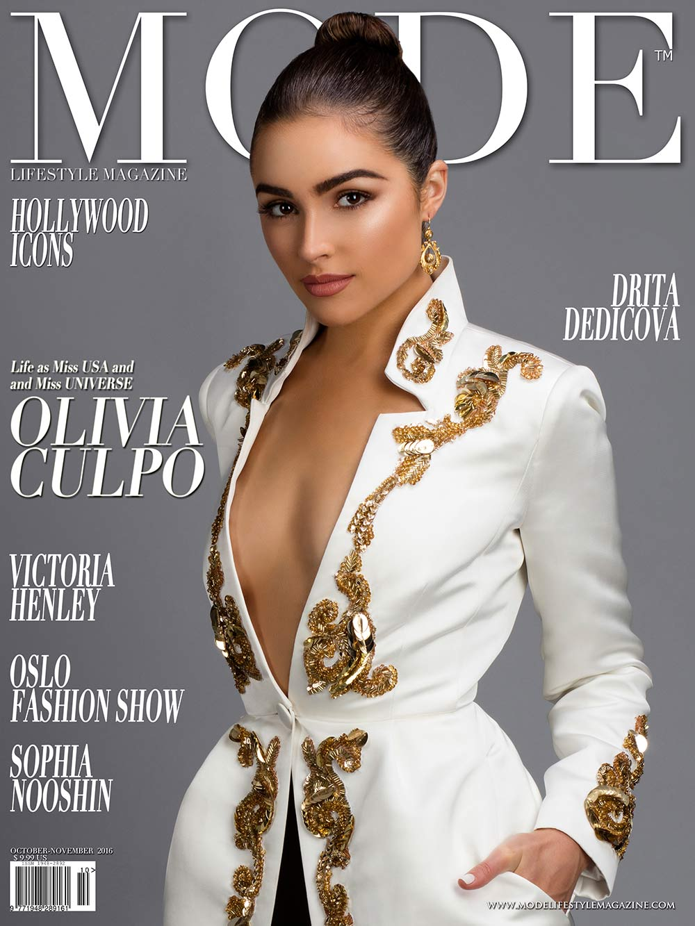 Olivia Culpo on Cover of Mode Lifestyle Magazine