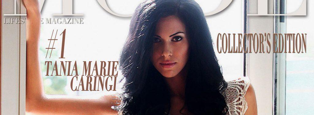 Tania Marie Caringi - MODE Cover