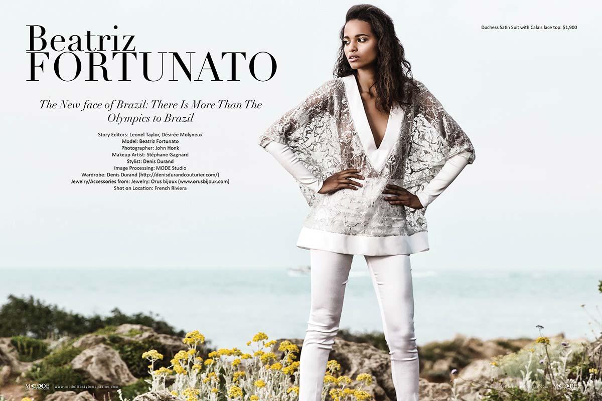 Beatriz Fortunato - The New Face of Brazil -