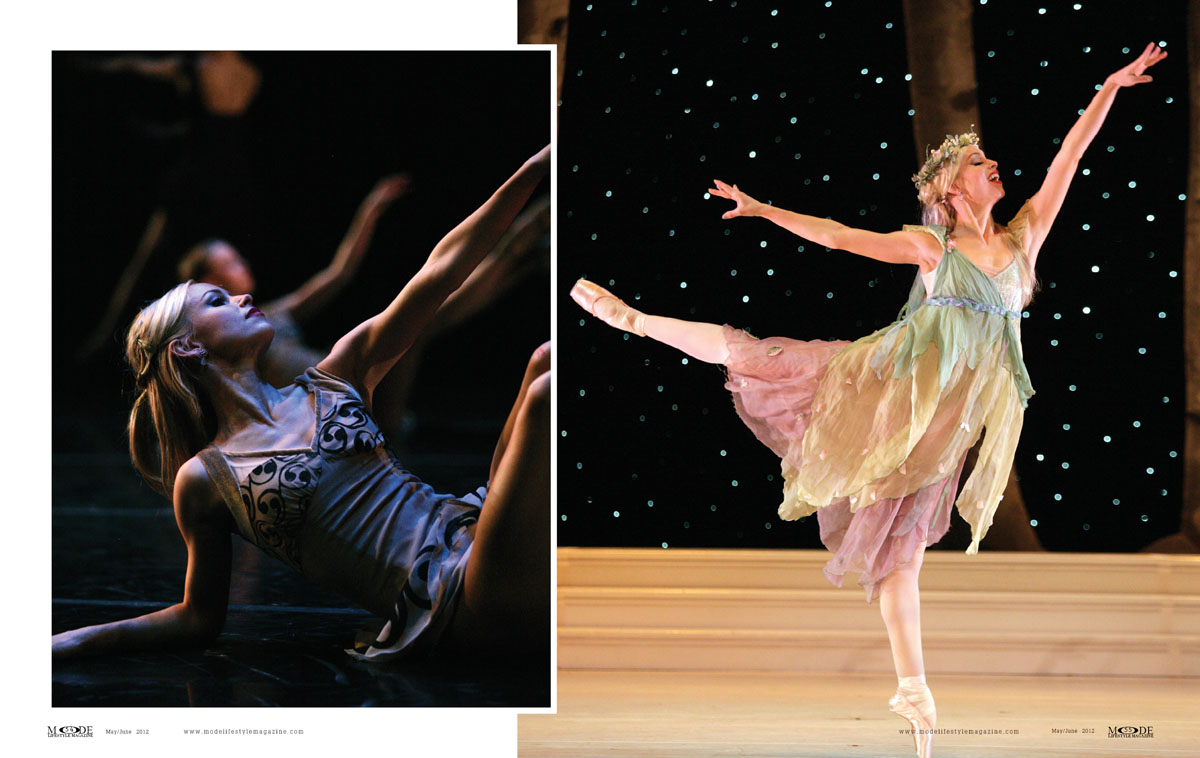 MODE May/June 2012: Anne-Tyler - Modern-Day Ballerina: P52-61-Spread-2