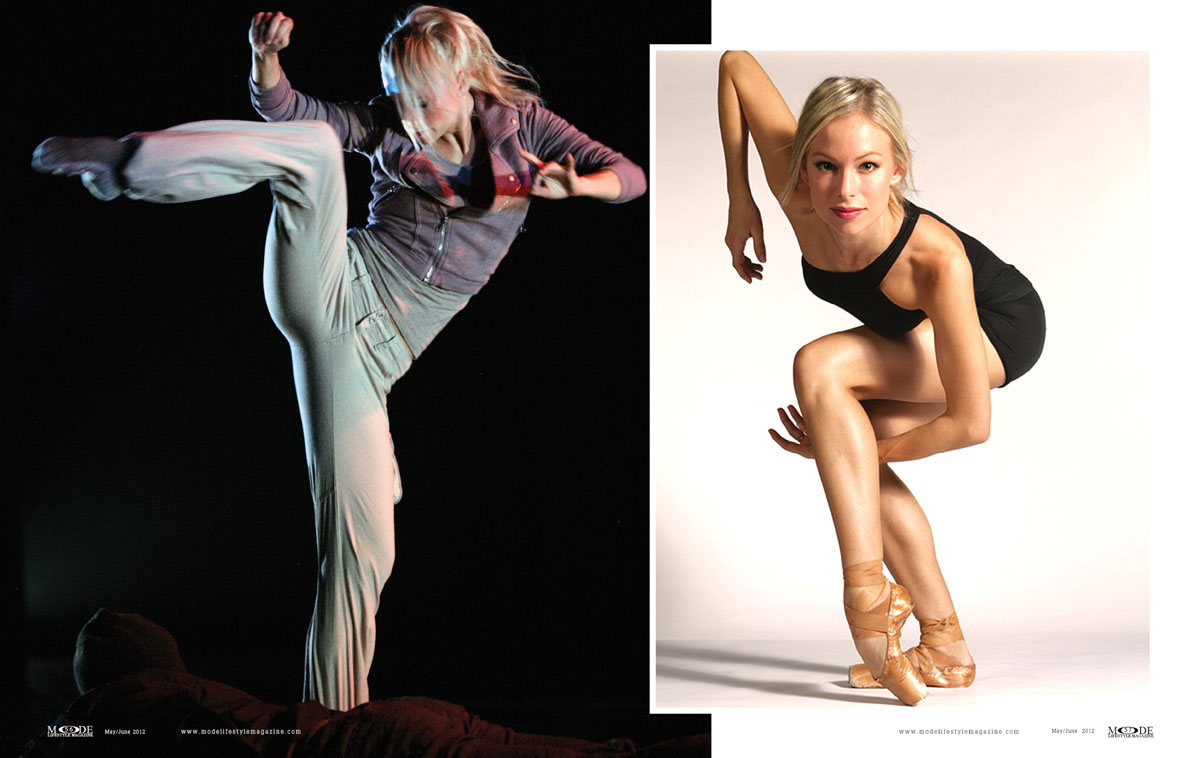 MODE May/June 2012: Anne-Tyler - Modern-Day Ballerina: P52-61-Spread-3
