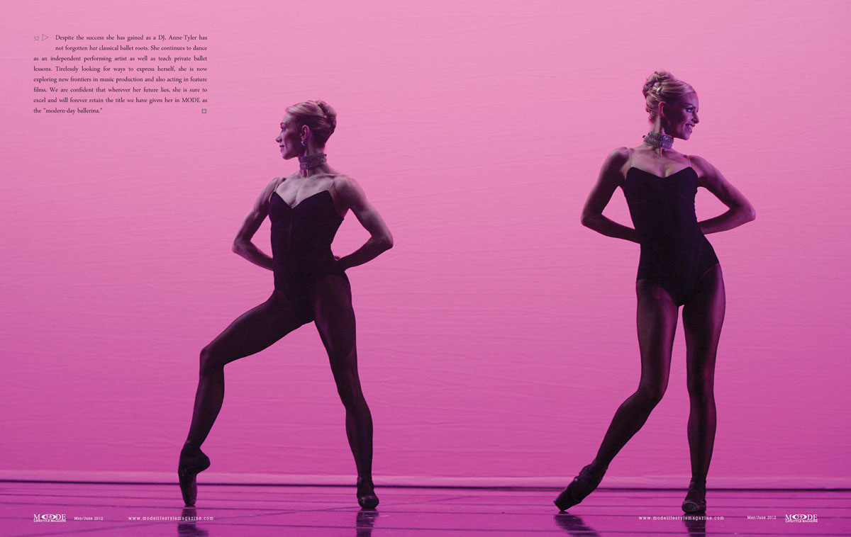 MODE May/June 2012: Anne-Tyler - Modern-Day Ballerina: P52-61-Spread-4