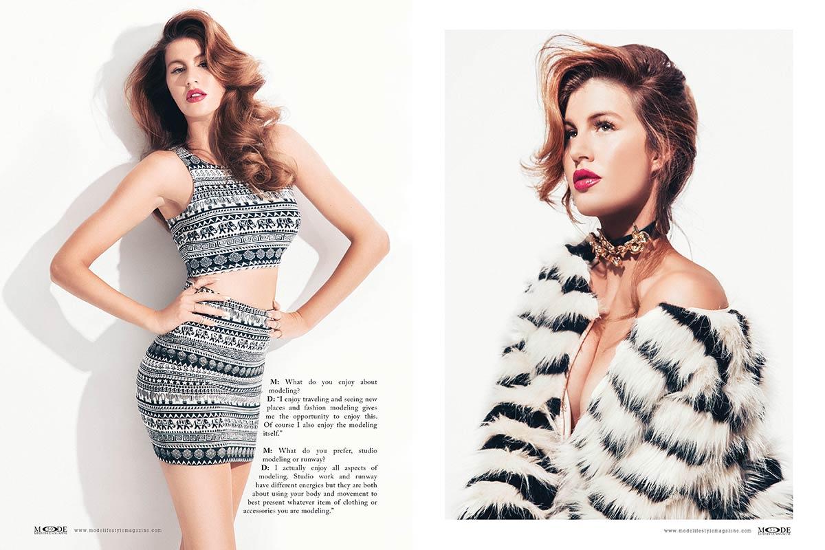 Drita Dedicova - The Model Life MODE Interview - P 50-51