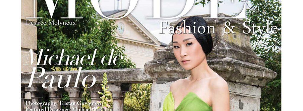 """Designer Michael de Paulo - MODE Fashion & Style - """"Paris Flair"""""""