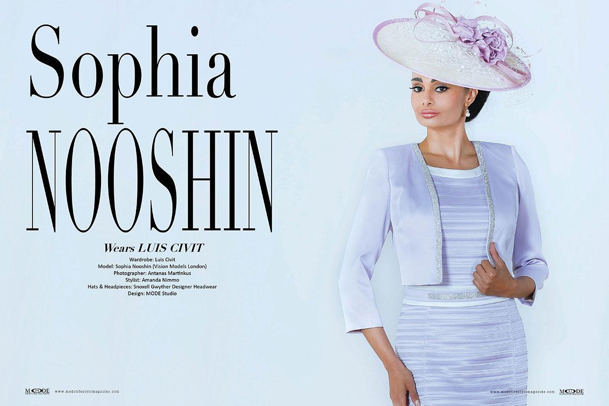 Sophia Nooshin Wears LUIS CIVIT