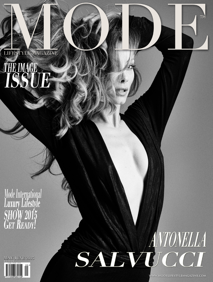 "Antonella Salvucci on the Multi-Cover ""THE IMAGE"" Issue of Mode Lifestyle Magazine"