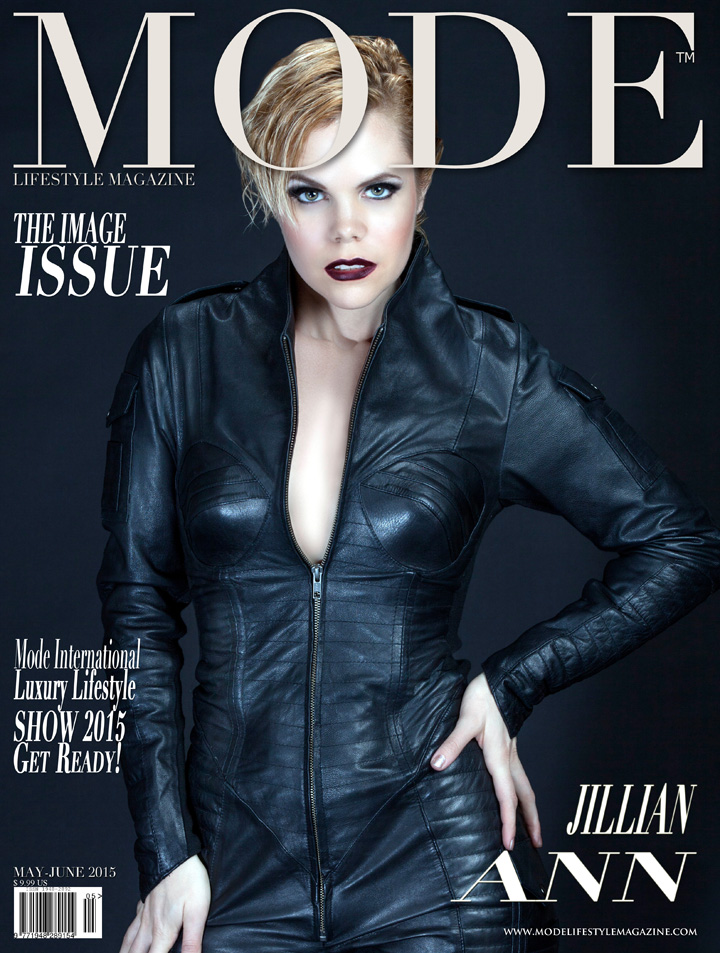 "Jillian Ann on the Multi-Cover ""THE IMAGE"" May/June 2015 Issue of Mode Lifestyle Magazine… Photography: Terry Check for MODE"