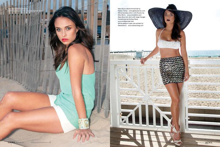 Madison McKinley - May/June 2015 Mode Lifestyle Magazine, Page 88-89