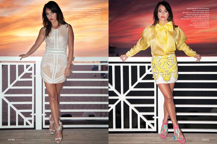 Madison McKinley - May/June 2015 Mode Lifestyle Magazine, Page 90-91