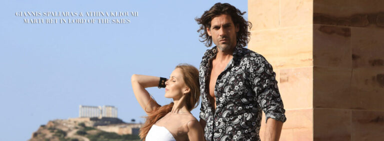 "Giannis Spaliaras and Athina Klioumi Marturet in LORD OF THE SKIES: Mode Lifestyle Magazine – ""Reasons To Be Thankful"" 2021 Issue"