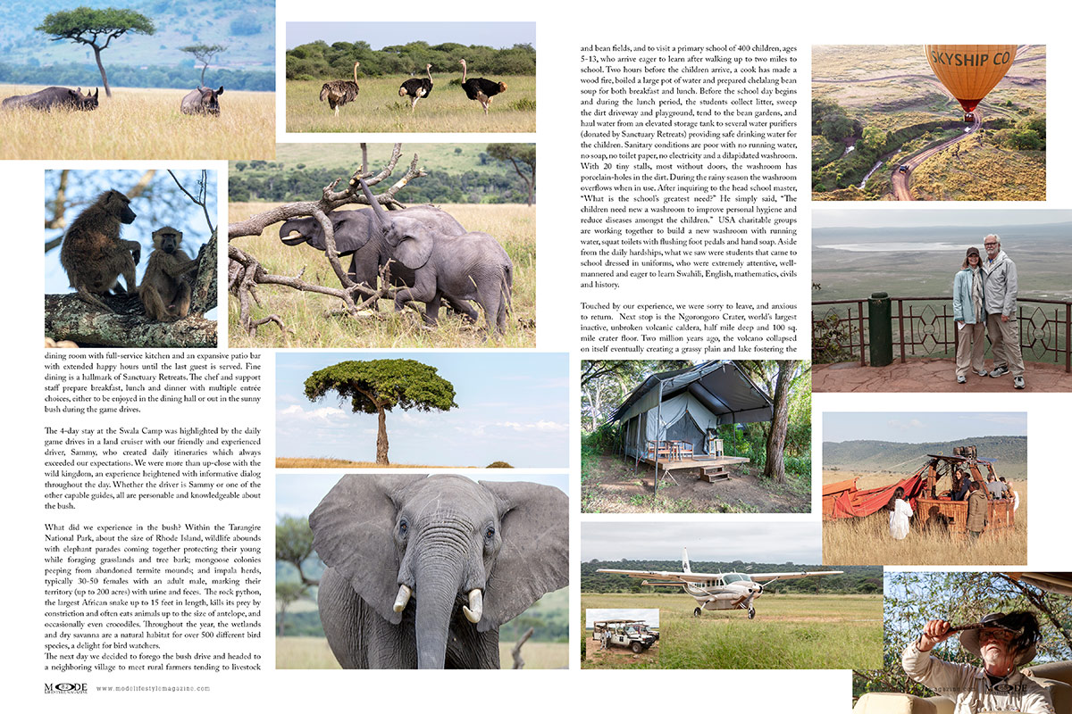 An African Adventure: Mode Lifestyle Magazine - Living A Full Life Issue 2020 - Page 82-83