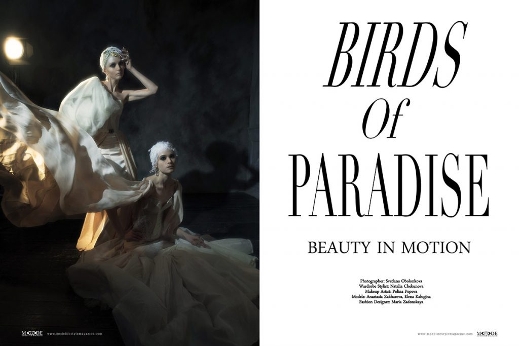 Birds Of Paradise - MODE Living A Full Life 2020 Edition: Page:22-23