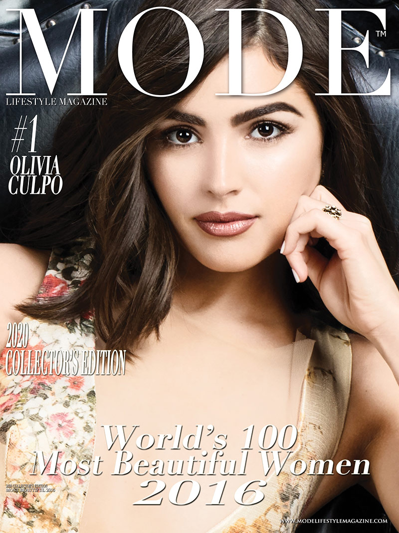Olivia Culpo Cover - 2020 Collector's Edition: MODE's World's 100 Most Beautiful Women 2016