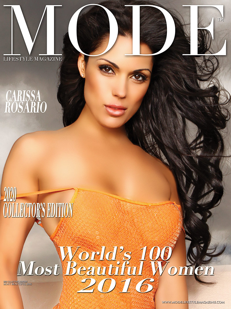 Carissa Rosario Cover - 2020 Collector's Edition: MODE's World's 100 Most Beautiful Women 2016