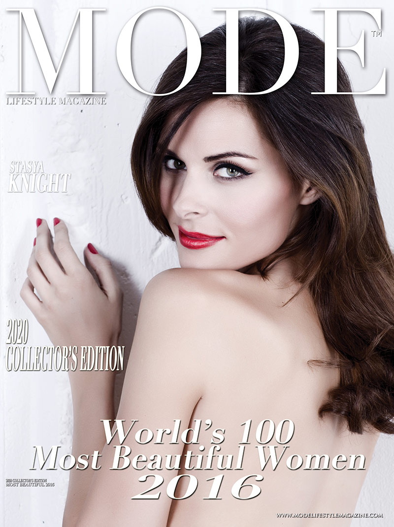 Stasya Knight Cover - 2020 Collector's Edition: MODE's World's 100 Most Beautiful Women 2016