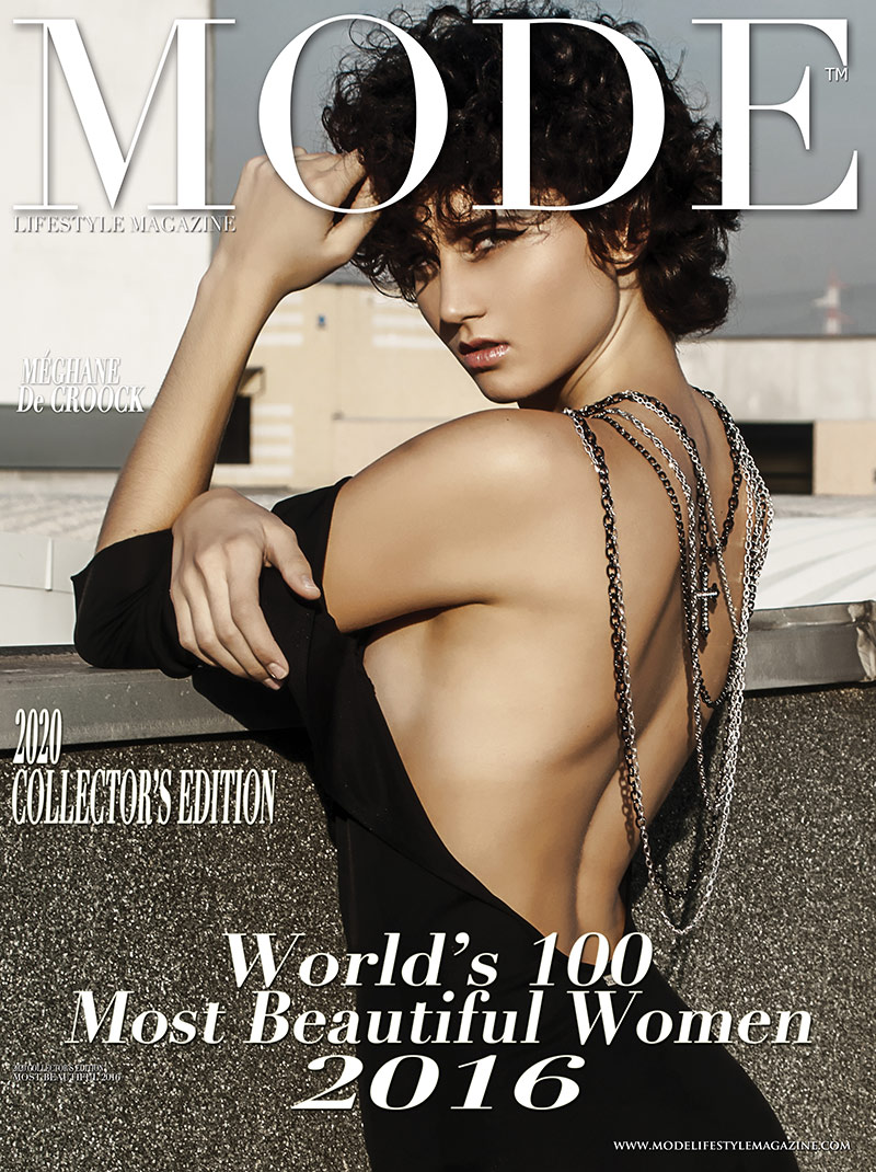 Méghane De Croock Cover - 2020 Collector's Edition: MODE's World's 100 Most Beautiful Women 2016