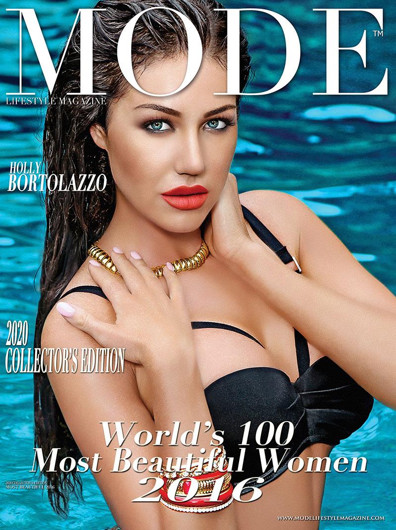 Holly Bortolazzo  Cover - 2020 Collector's Edition: MODE's World's 100 Most Beautiful Women 2016
