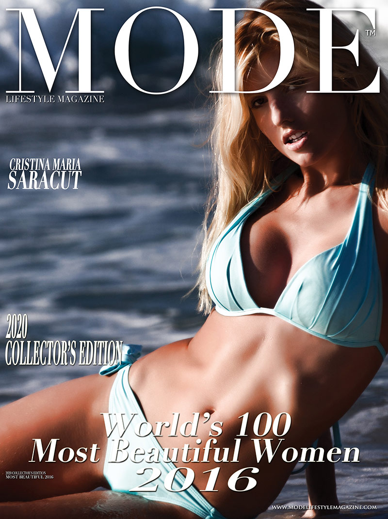 Cristina Maria Saracut  Cover - 2020 Collector's Edition: MODE's World's 100 Most Beautiful Women 2016