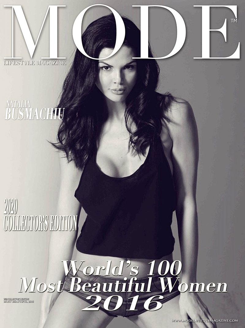 Natalia Busmachiu Cover - 2020 Collector's Edition: MODE's World's 100 Most Beautiful Women 2016