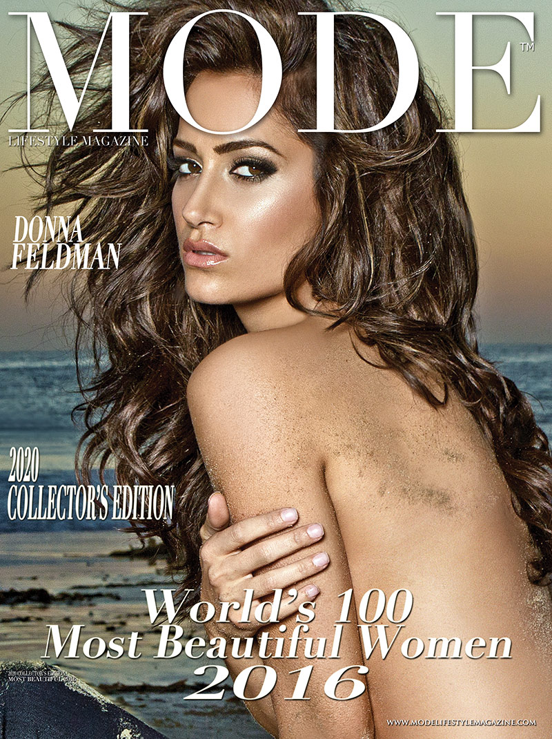 Donna Feldman Cover - 2020 Collector's Edition: MODE's World's 100 Most Beautiful Women 2016