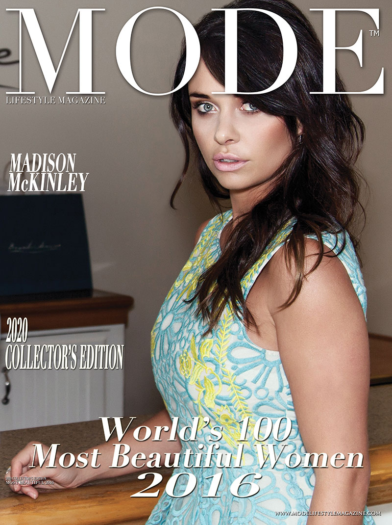 Madisson McKinley Cover - 2020 Collector's Edition: MODE's World's 100 Most Beautiful Women 2016