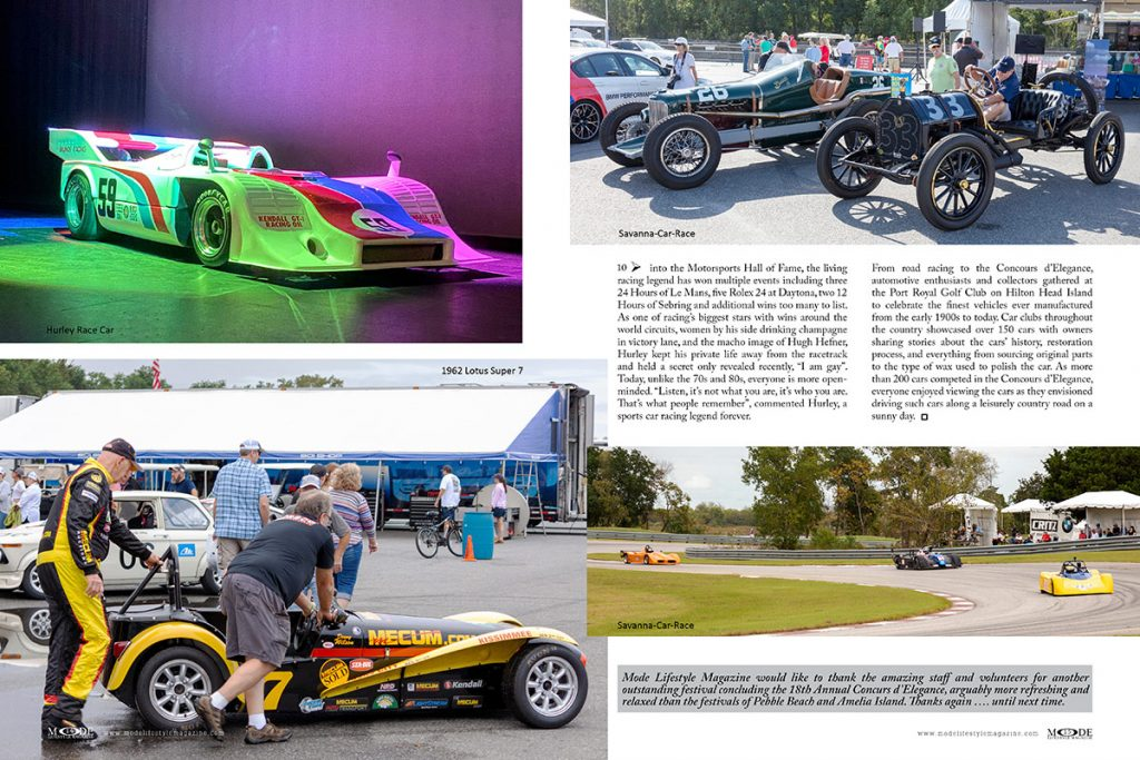 """Concors d'Elegance and Motoring Festival - Mode Lifestyle Magazine """"Living A Full Life"""" Issue: Page 14-15"""