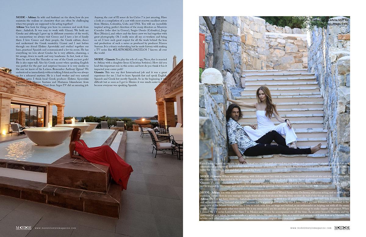 Giannis Spaliaras and Athina Klioumi Marturet - MODE: