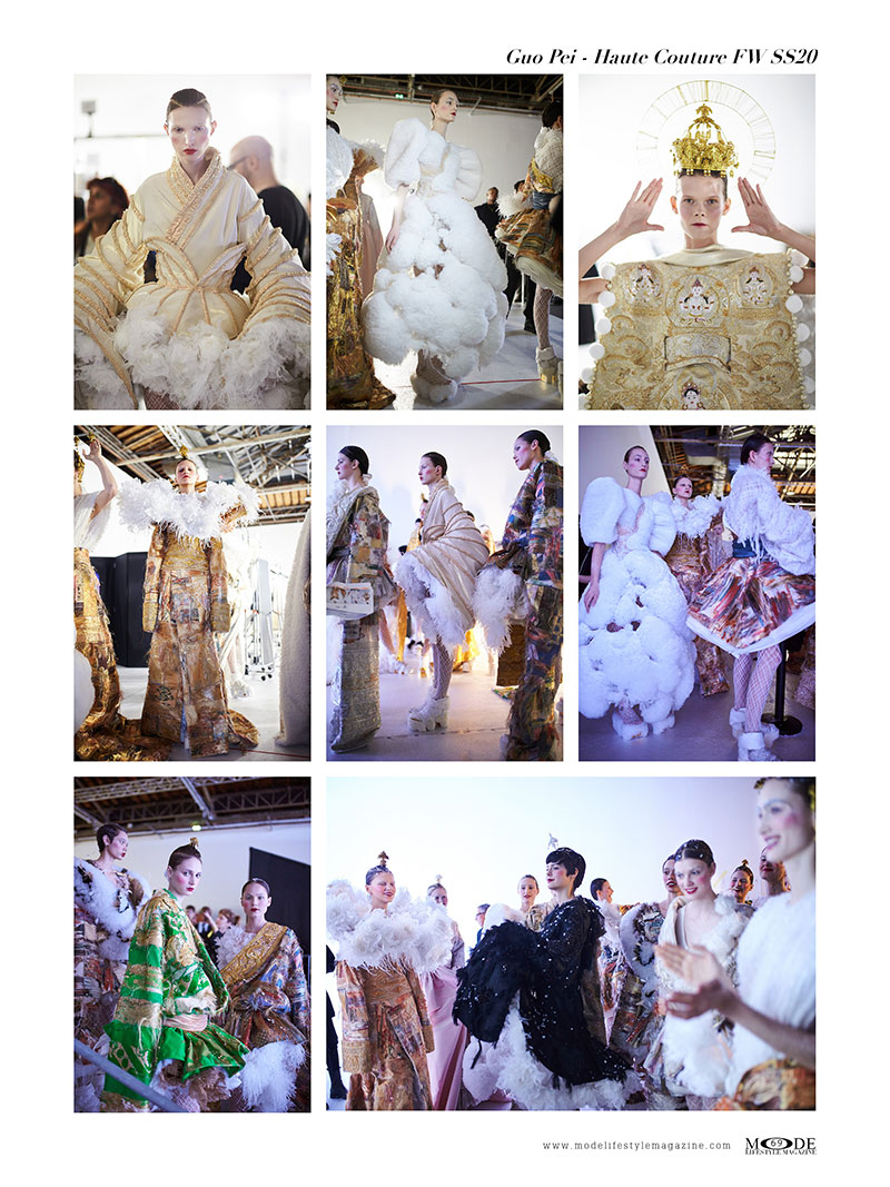 Guo Pei - Spring Summer 2020 Haute Couture Fashion Week - Mode Lifestyle Magazine