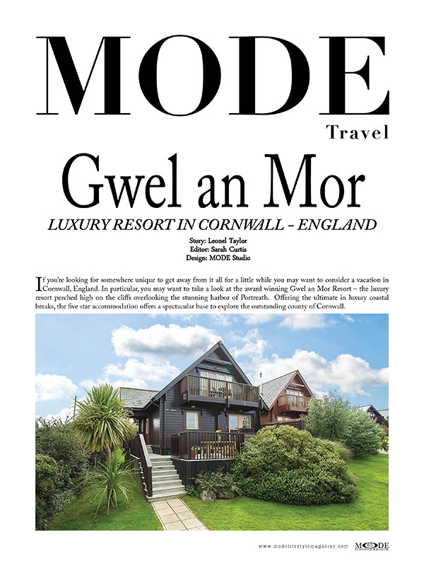 Gwel an Mor - Luxury Resort - Page 65 MODE Art Issue