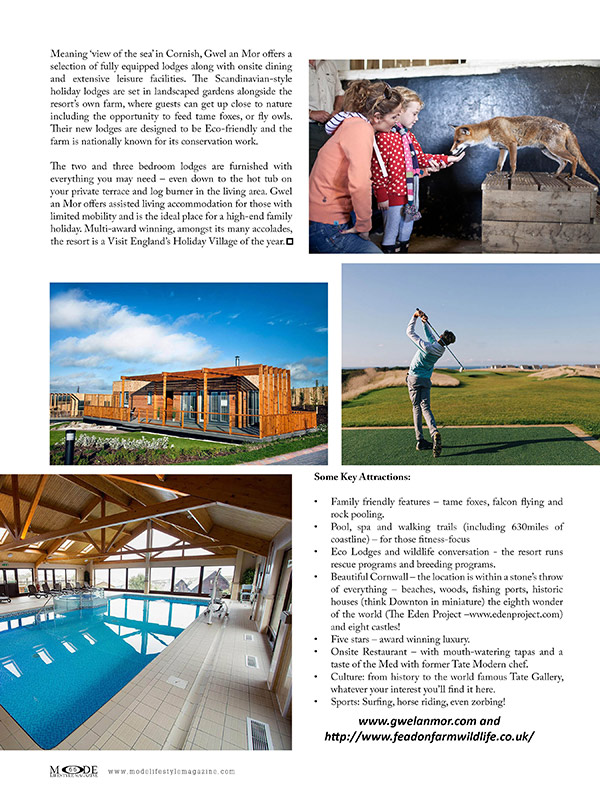 Gwel an Mor - Luxury Resort - Page 66 MODE Art Issue