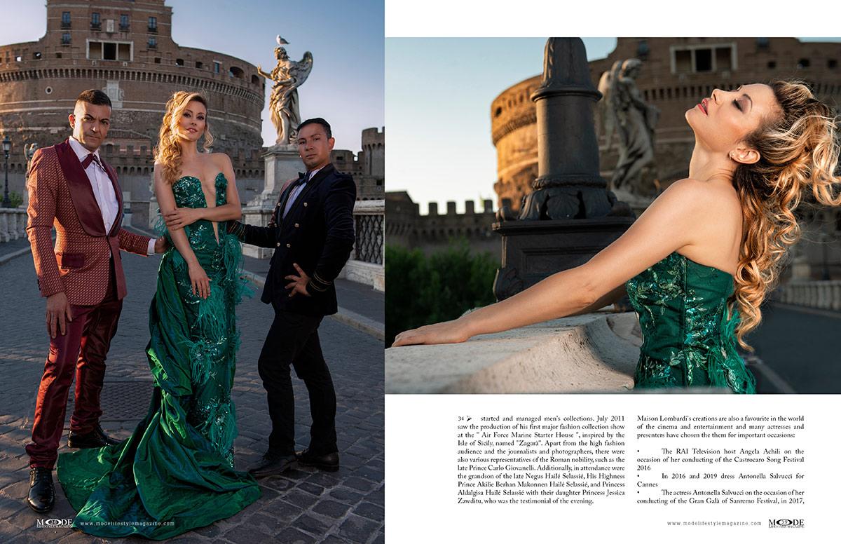 José Lombardi for Maison Lombardi Haute Couture - MODE Page 38-39
