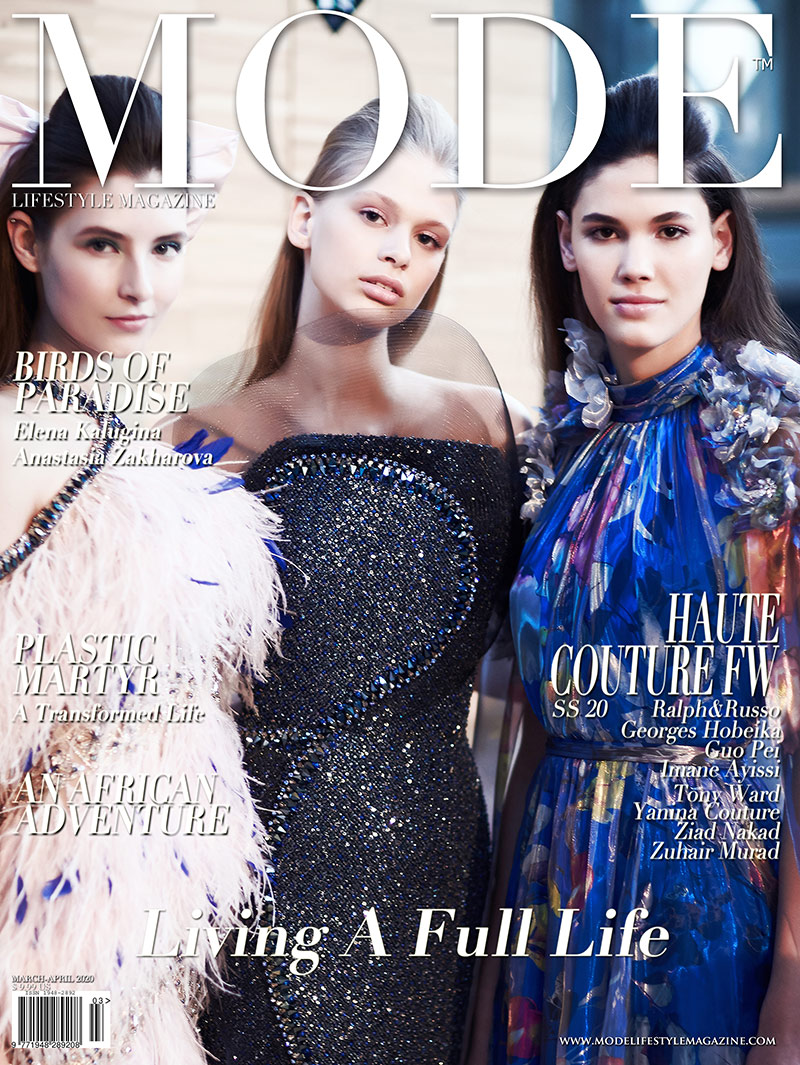"""Ralph & Russo Cover 3 - Spring Summer 2020 Haute Couture Fashion Week - Mode Lifestyle Magazine """"Living A Full Life"""" Issue 2020"""