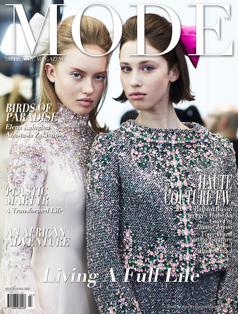 """Ralph & Russo Cover 5 - Spring Summer 2020 Haute Couture Fashion Week - Mode Lifestyle Magazine """"Living A Full Life"""" Issue 2020"""