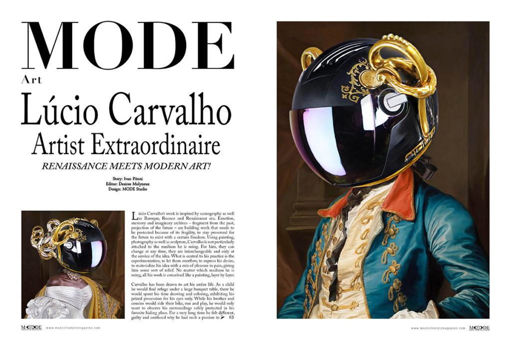 Lucio Carvalho - Renaissance meets modern art: Francisca -  João