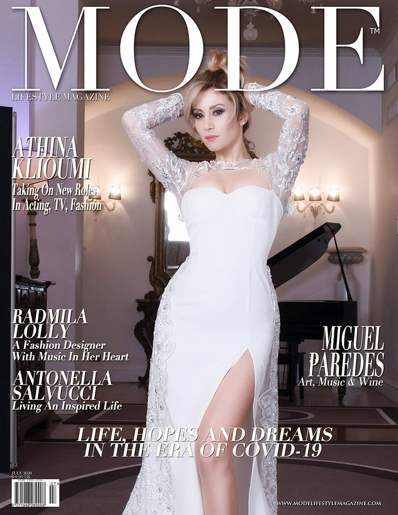 Antonella Salvucci Cover - Life, Hope and Dreams Issue - Mode Lifestyle Magazine