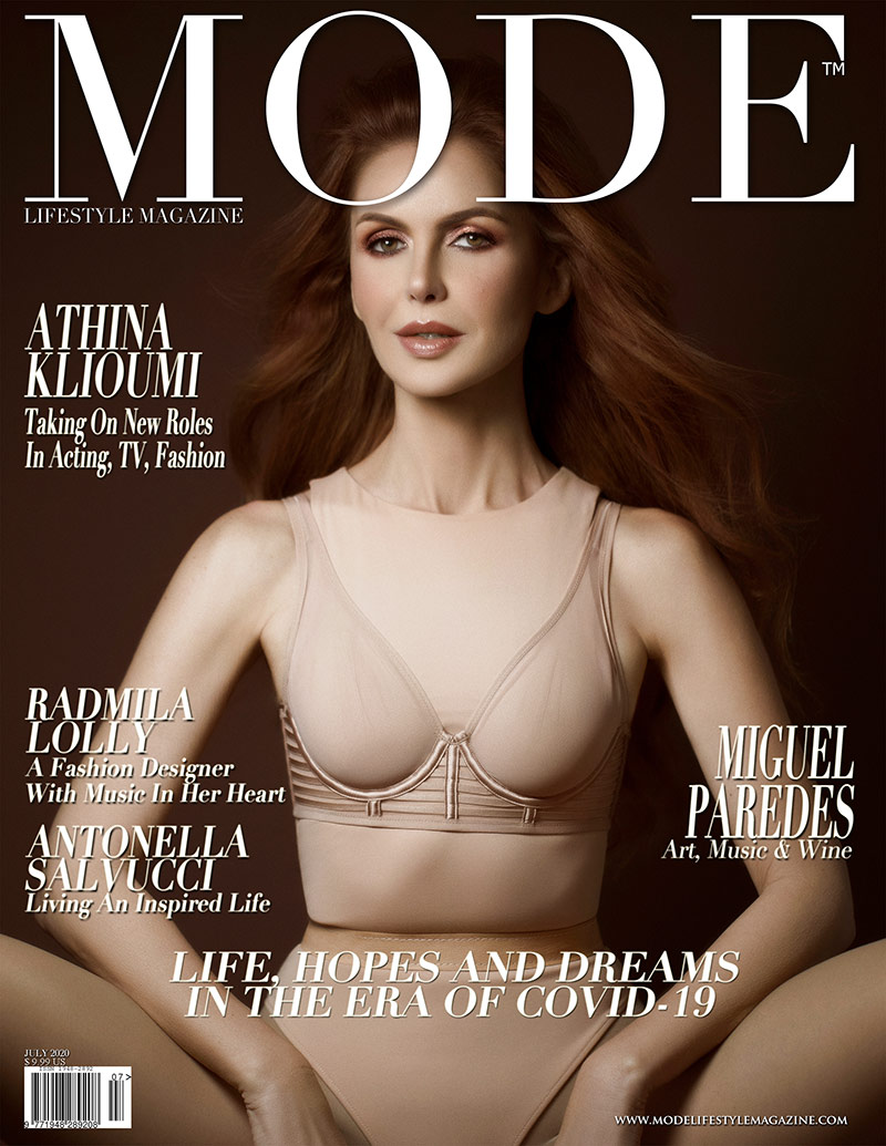 Athina Klioumi Cover - Life, Hope and Dreams Issue - Mode Lifestyle Magazine
